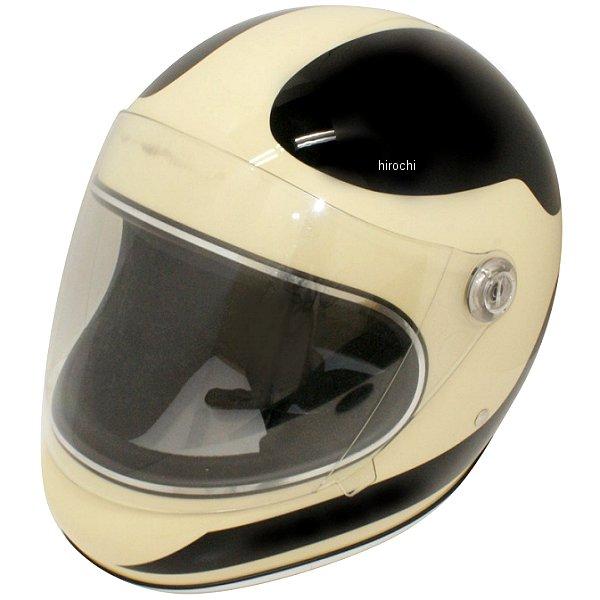 ダムトラックス DAMMTRAX ヘルメット AKIRA スピーディ フルフェース アイボリー/黒 M(57cm-58cm) 4560185903092 HD店