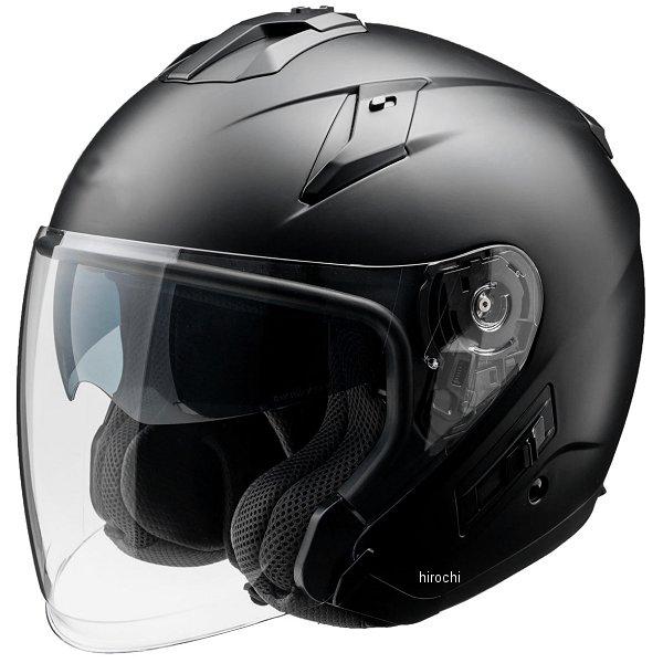 FH003 山城 フィオーレ FIORE TURISMO ジェットヘルメット マットブラック Mサイズ 4547544044542 HD店