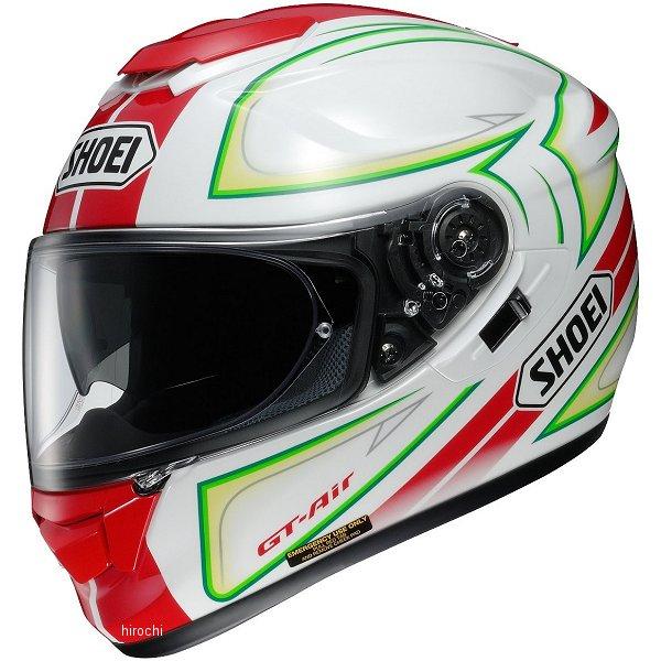 【メーカー在庫あり】 ショウエイ SHOEI フルフェイスヘルメット GT-Air EXPANSE TC-10 赤/緑 Sサイズ 4512048448714 HD店