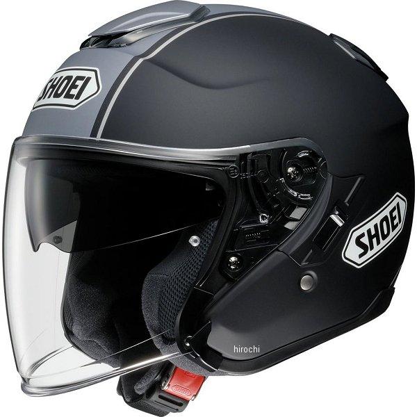 【メーカー在庫あり】 ショウエイ SHOEI ヘルメット J-CRUISE CORSO TC-10 黒/シルバー Mサイズ 4512048448875 HD店