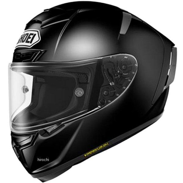 【メーカー在庫あり】 ショウエイ SHOEI フルフェイスヘルメット X-Fourteen 黒 Mサイズ 4512048455965 HD店
