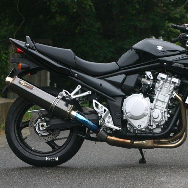 ノジマエンジニアリング スリップオンマフラー DLCチタン 15年以前 バンディット1250 ABS 黒(DLCコーティング) NT408SGTD-CLK HD店