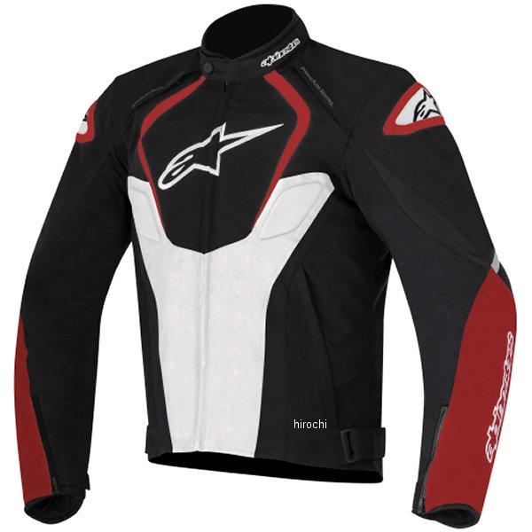 【メーカー在庫あり】 アルパインスターズ Alpinestars 春夏モデル レザージャケット JAWS 黒/白/赤 52サイズ 8051194924759 HD店