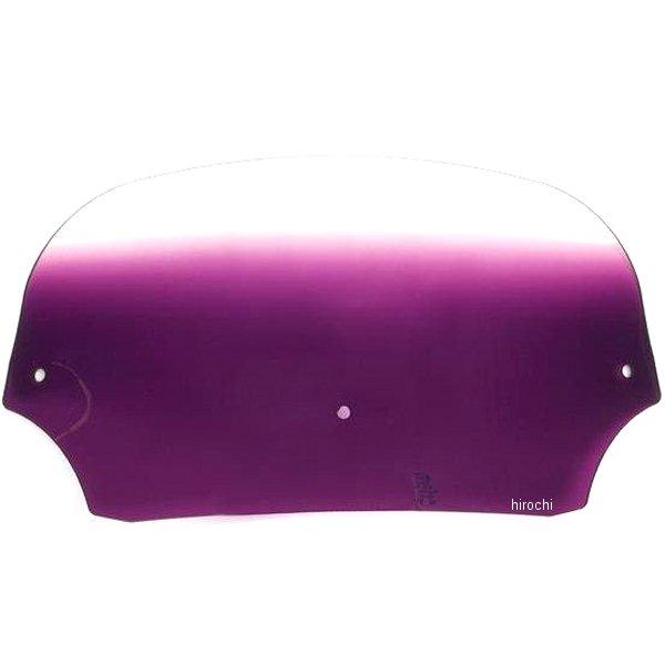 【USA在庫あり】 メンフィスシェード Memphis Shades バットウィング フェアリング用シールド 7インチ高 紫 ME0142 HD店