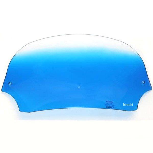 【USA在庫あり】 メンフィスシェード Memphis Shades バットウィング フェアリング用シールド 7インチ高 青 ME0143 HD店