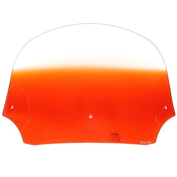 【USA在庫あり】 メンフィスシェード Memphis Shades バットウィング フェアリング用シールド 9インチ高 オレンジ ME0151 HD店