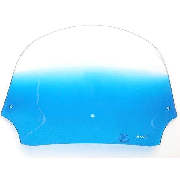 【USA在庫あり】 メンフィスシェード Memphis Shades バットウィング フェアリング用シールド 12インチ高 青 ME0157 HD店