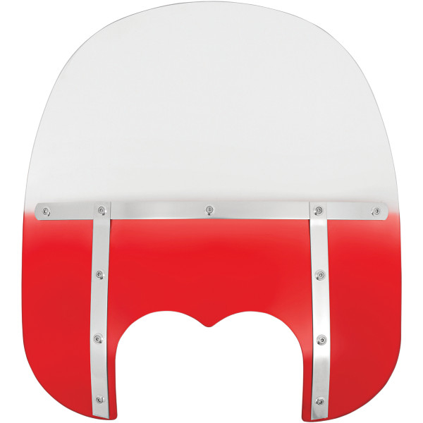 【USA在庫あり】 メンフィスシェード Memphis Shades ウインドシールド ファット 17インチ高 08年-17年 FXDF 赤 ME0431 HD店
