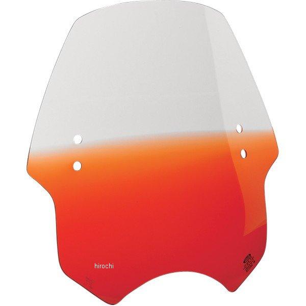 【USA在庫あり】 メンフィスシェード Memphis Shades ウインドシールド ハンドル取付金具付 ヘルキャット オレンジ ME0760 HD店