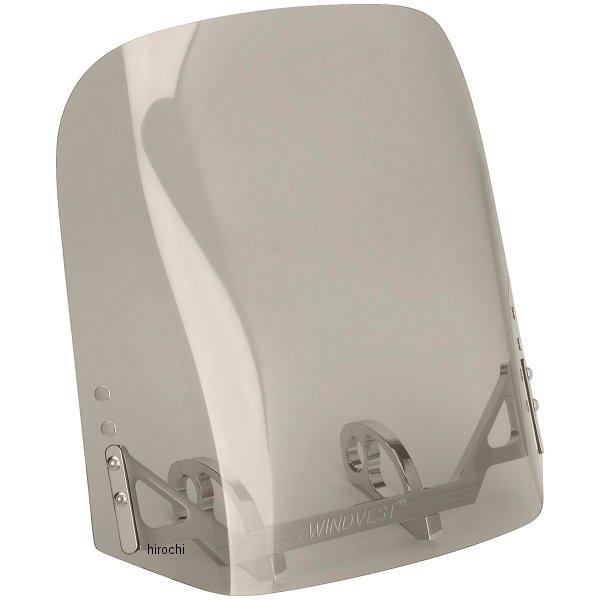 【USA在庫あり】 ウインドベスト WindVest ウインドシールド 14インチ幅x16インチ高 08年-17年 FXDF、FXDWG スモーク 552351 HD店