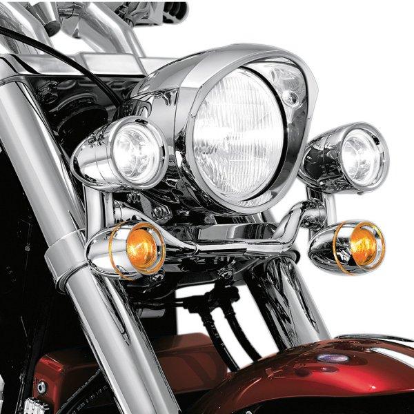 【メーカー在庫あり】 クリアキン Kuryakyn ドライビングライト 90年以降 FLSTF、FLSTFB、FLS 5001 HD店