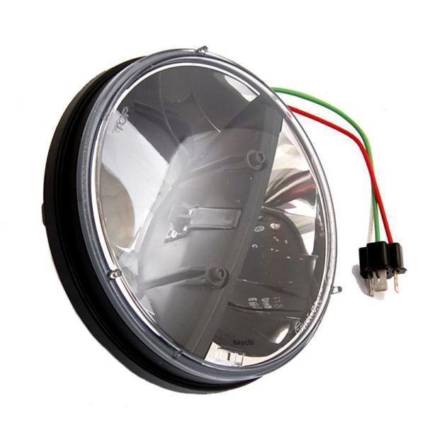 【USA在庫あり】 クリアキン Kuryakyn LED ヘッドライト 7インチ 2001-0666 HD店