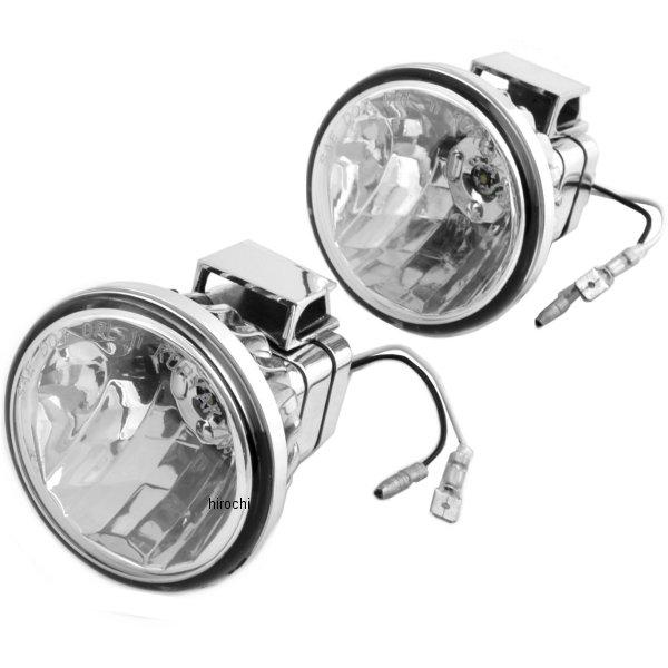 【USA在庫あり】 クリアキン Kuryakyn LED ドライビングライト 3インチ 左右ペア 2001-0956 HD店