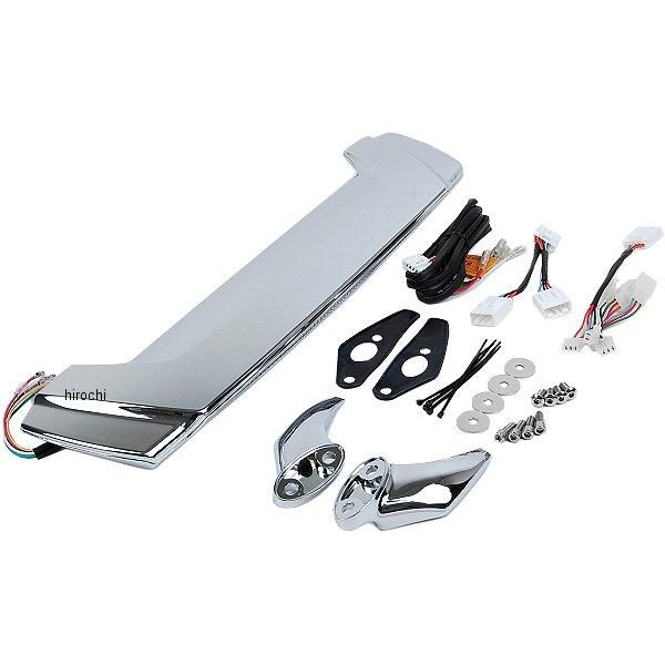【メーカー在庫あり】 クリアキン Kuryakyn LED ブレーキ ランプ付き スポイラー 01年以降 GL1800 クローム 3239 HD店