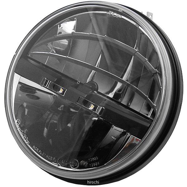 【USA在庫あり】 クリアキン Kuryakyn LED ヘッドライト ツーリング、FLソフテイル 左ドライブ 7インチ 419745 HD店