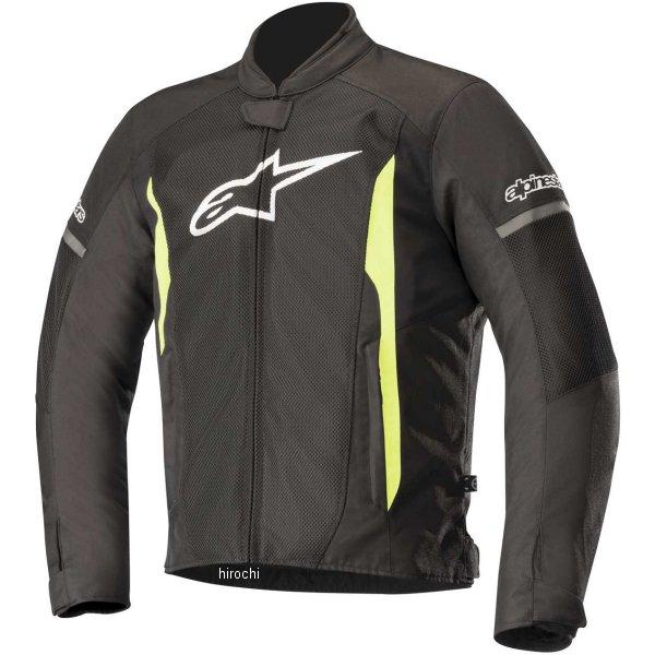 【メーカー在庫あり】 アルパインスターズ Alpinestars 春夏モデル ジャケット T-FASTER AIR 黒/蛍光イエロー 2XLサイズ 8033637028675 HD店