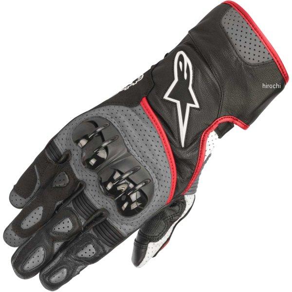 【メーカー在庫あり】 アルパインスターズ Alpinestars 春夏モデル グローブ SP-2 黒/グレー/蛍光赤 2XLサイズ 8033637030616 HD店