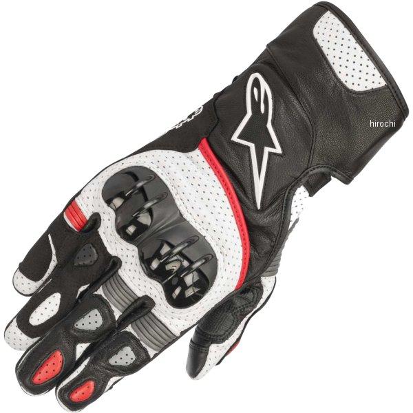 【メーカー在庫あり】 アルパインスターズ Alpinestars 春夏モデル グローブ SP-2 黒/白/赤 Lサイズ 8033637033891 HD店