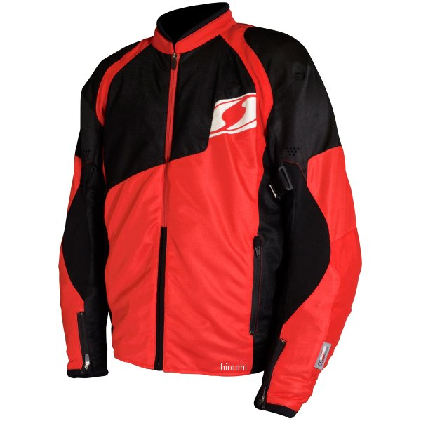 シールズ SEAL'S 春夏モデル スポーツ メッシュ ジャケット 赤 3Lサイズ SLB-643 HD店