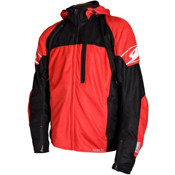シールズ SEAL'S 春夏モデル スポーツ メッシュ パーカー 赤 3Lサイズ SLB-644 HD店