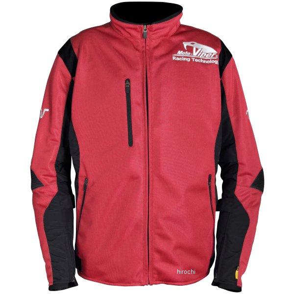 モトバイパー Moto-Viper 春夏モデル メッシュジャケット 赤 3Lサイズ MV-66 HD店