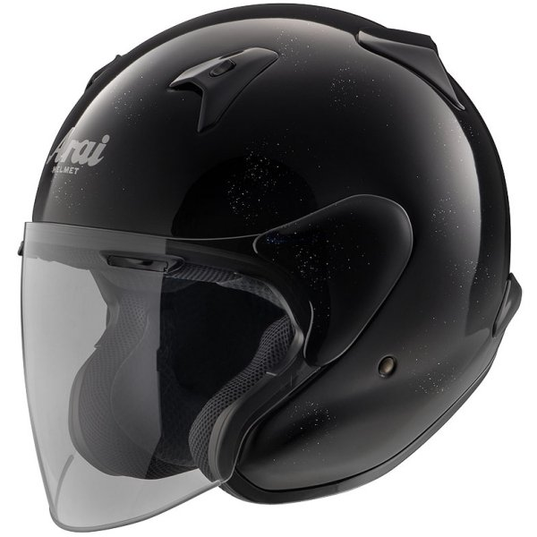 MF-GLBK-55 アライ Arai ヘルメット MZ-F グラスブラック (55cm-56cm) 4530935328116 HD店