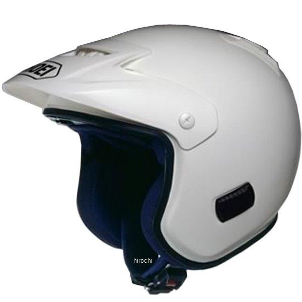 ショウエイ SHOEI ヘルメット トライアルタイプ TR-3 白 XSサイズ 4512048048891 HD店