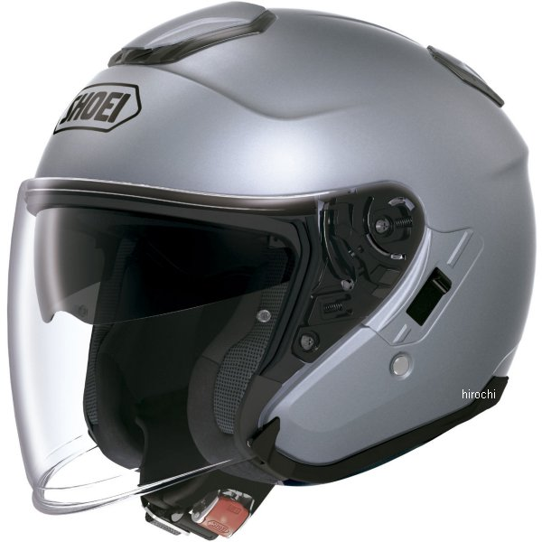 【メーカー在庫あり】 ショウエイ SHOEI ヘルメット J-CRUISE パールグレーメタリック Mサイズ 4512048369460 HD店