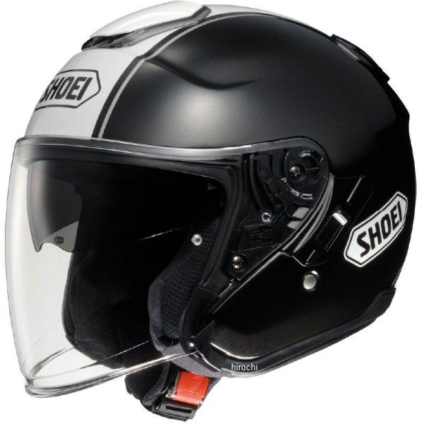 【メーカー在庫あり】 ショウエイ SHOEI ヘルメット J-CRUISE CORSO TC-5 黒/白 Mサイズ 4512048422998 HD店