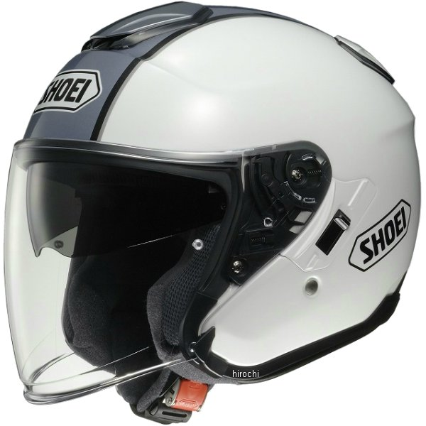 ショウエイ SHOEI ヘルメット J-CRUISE CORSO TC-6 白/シルバー Sサイズ 4512048423025 HD店