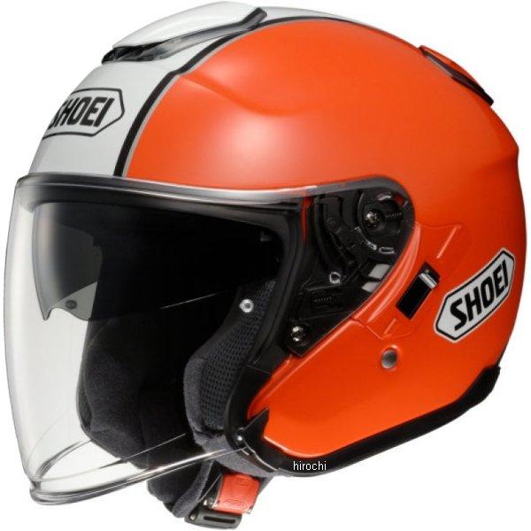 【メーカー在庫あり】 ショウエイ SHOEI ヘルメット J-CRUISE CORSO TC-8 オレンジ/白 Sサイズ 4512048423063 HD店