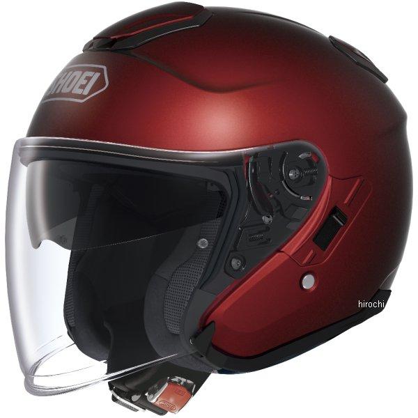 【メーカー在庫あり】 ショウエイ SHOEI ヘルメット J-CRUISE 赤 Lサイズ 4512048433406 HD店