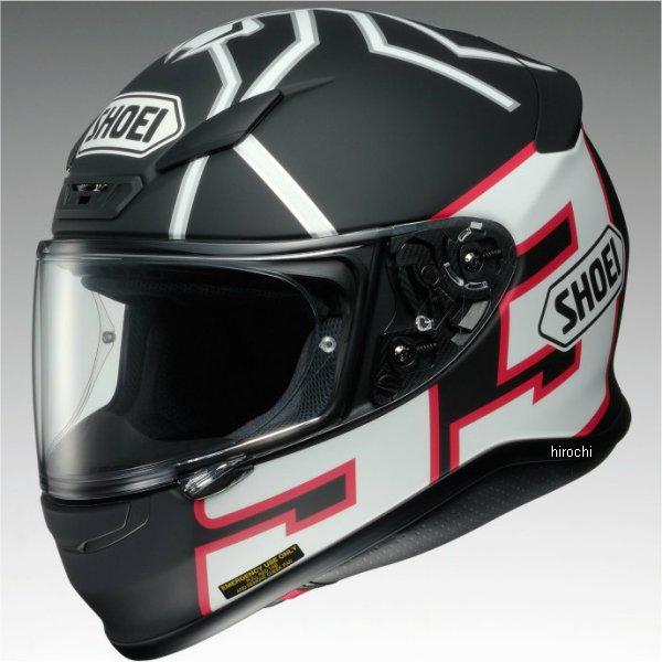 【メーカー在庫あり】 ショウエイ SHOEI フルフェイスヘルメット Z-7 MARQUEZ BLACKANT TC-5 黒/マットホワイト Sサイズ 4512048437237 HD店