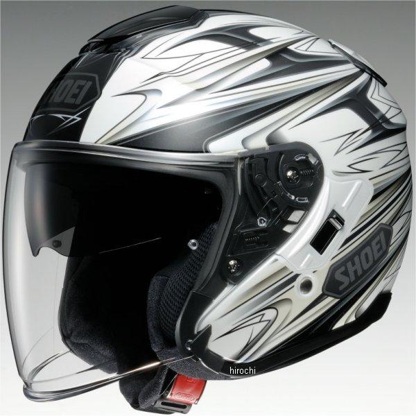 【メーカー在庫あり】 ショウエイ SHOEI ヘルメット J-CRUISE CLEAVE TC-6 白/灰 Lサイズ 4512048440428 HD店