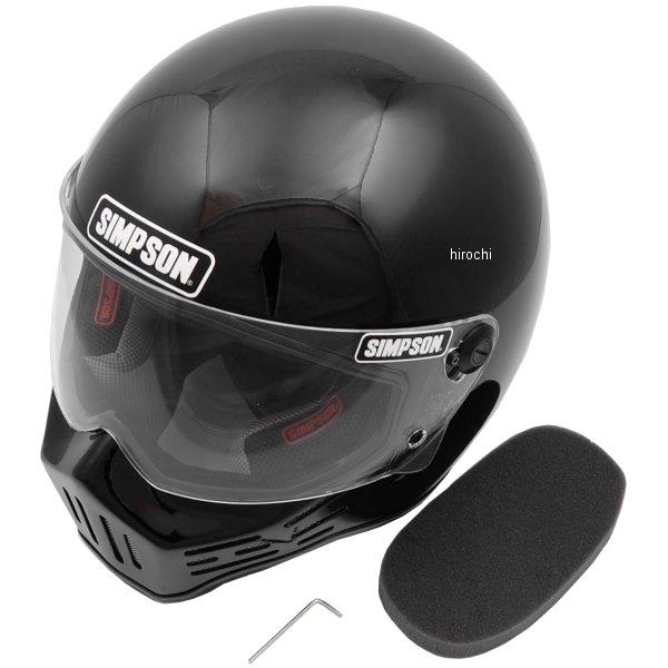 3305115800 シンプソン SIMPSON ヘルメット M30 黒 58cm 7-1/4 4562363241279 HD店