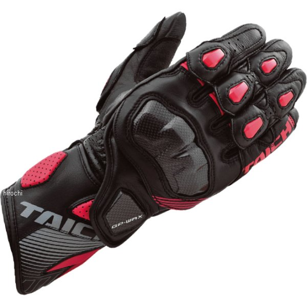 【メーカー在庫あり】 NXT052 RSタイチ GP-WRX レーシング グローブ 黒/赤 Mサイズ NXT0529915M HD店