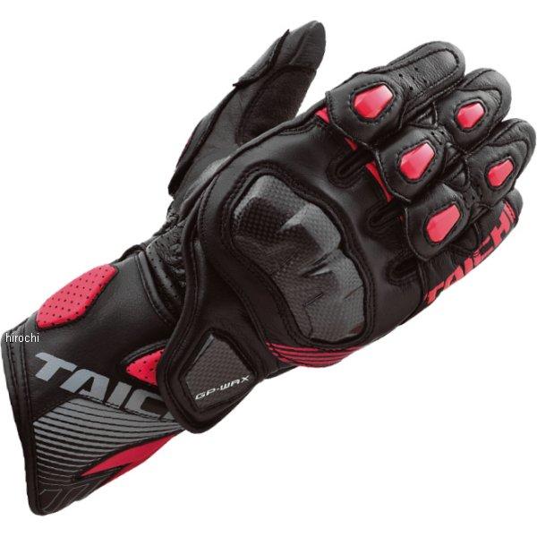 【メーカー在庫あり】 NXT052 RSタイチ GP-WRX レーシング グローブ 黒/赤 Lサイズ NXT0529915L HD店