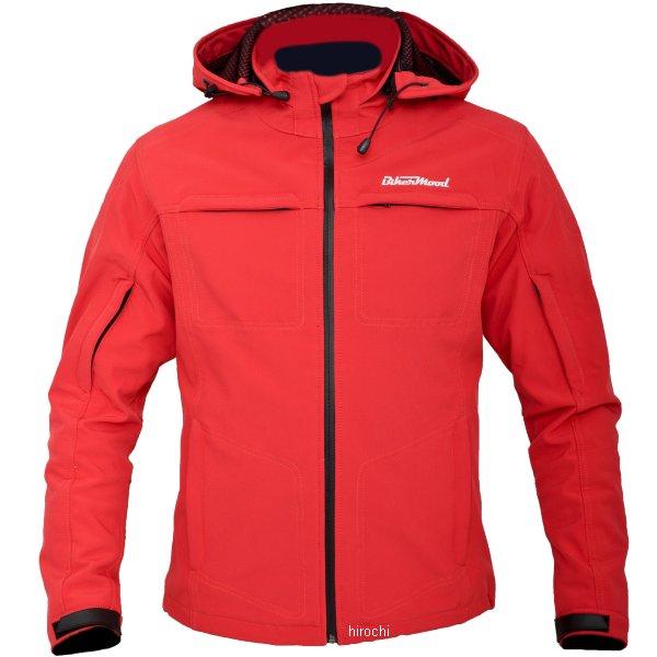 バイカームード BIKERMOOD オグマジャケット レディース 赤 Sサイズ BMJ011RS HD店