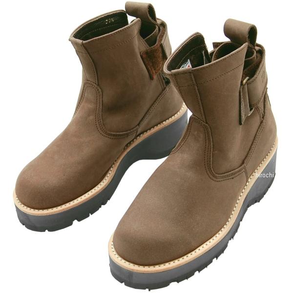 4317 カドヤ KADOYA ブーツ EGブラウン(A) ブラウン 25.0cm NO4317-0BR25 HD店