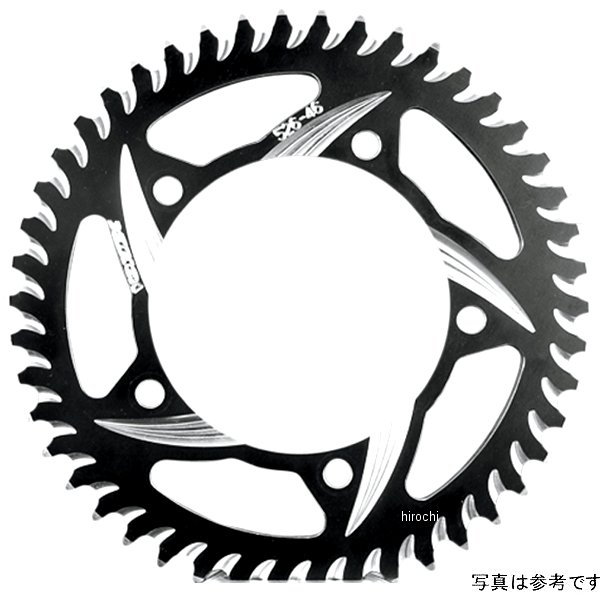 【USA在庫あり】 ボルテックス Vortex リア スプロケット 44T/520 00年-09年 GSX-R1000、SV1000、デイトナ955 アルミ 黒 (CAT5) 573590 HD