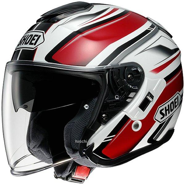 ショウエイ SHOEI ヘルメット J-CRUISE PASSE TC-1 赤/白 XXLサイズ 4512048448158 HD店
