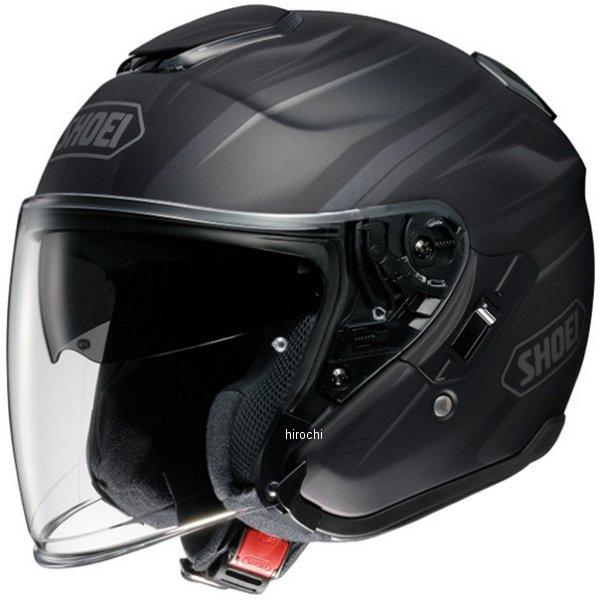 ショウエイ SHOEI ヘルメット J-CRUISE PASSE TC-5 黒/シルバー XXLサイズ 4512048448172 HD店