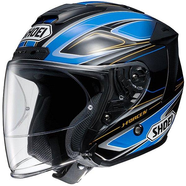 ショウエイ SHOEI ジェットヘルメット J-FORCE4 BRILLER TC-2 青/黒 XXLサイズ 4512048456566 HD店