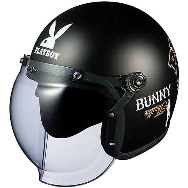 オージーケーカブト OGK KABUTO ジェットヘルメット ROCK PLAYBOY フラットブラック-3 57cm-59cm 4966094559977 HD店