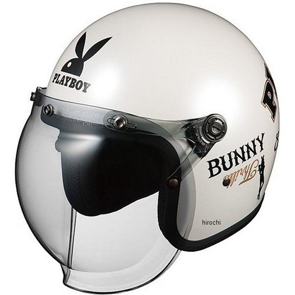 オージーケーカブト OGK KABUTO ジェットヘルメット ROCK PLAYBOY パールホワイト-4 57cm-59cm 4966094559984 HD店