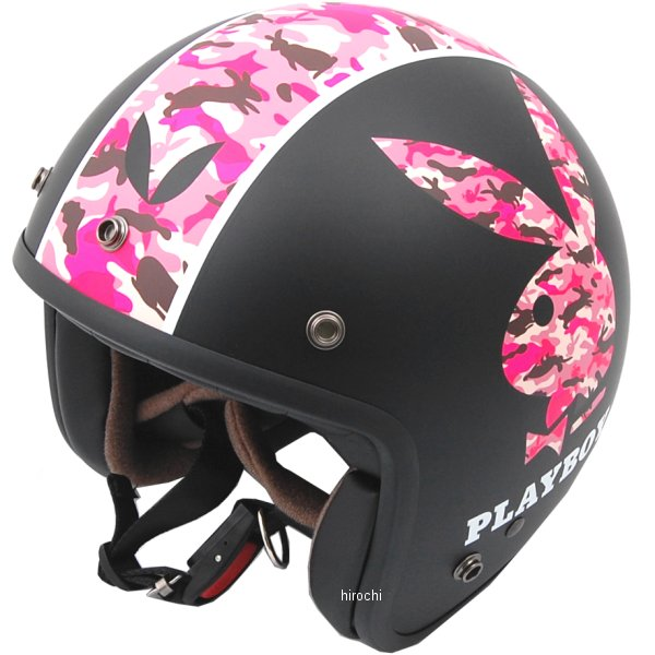 オージーケーカブト OGK KABUTO ジェットヘルメット KL-MINI PLAYBOY フラットブラック-5 54cm-57cm 4966094559991 HD店