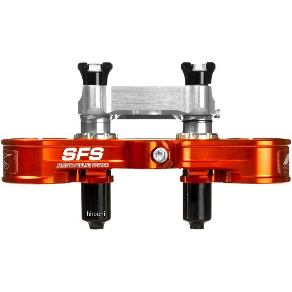 【USA在庫あり】 ネーケン Neken トップクランプ フォーク調整可能 オフセット22mm 13年以降 KTM SX/SX オレンジ 0603-0682 HD店