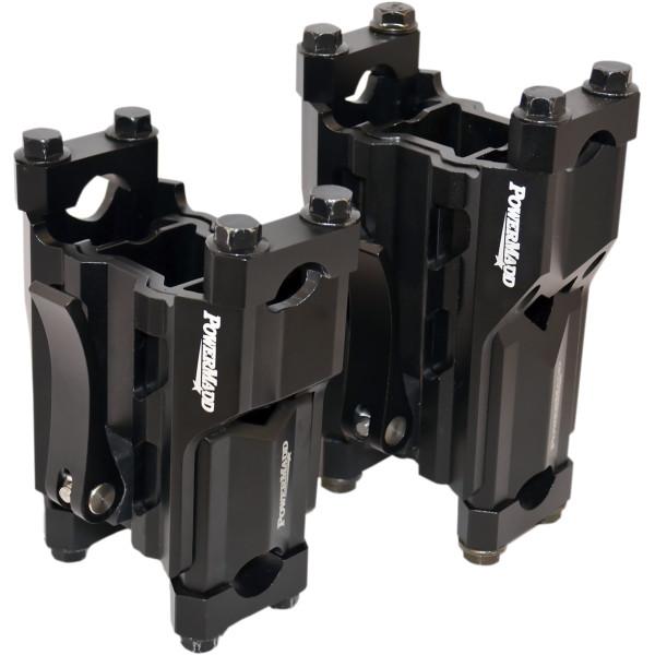 【USA在庫あり】 パワーマッド PowerMadd ライザー 調整可能 4インチ(102mm) から 6インチ(152mm) 0602-0812 HD店