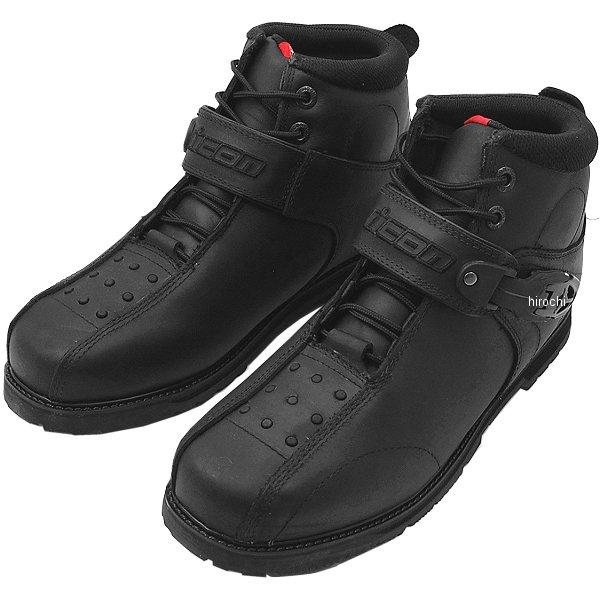 【メーカー在庫あり】 アイコン ICON ブーツ SUPERDUTY4 黒 12サイズ 30cm 3403-0182 HD店