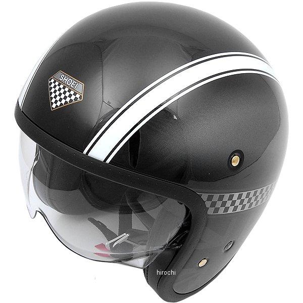 ショウエイ SHOEI ジェットヘルメット J・O HAWKER TC-5 黒/シルバー XXLサイズ 4512048459505 HD店